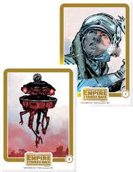 2016 IDW Empire Strikes Back Micro Comic Collector Packs Cards