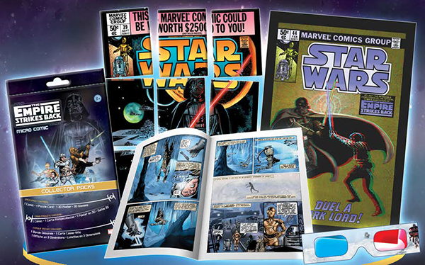 2016 IDW Empire Strikes Back Micro Comic Collector Packs