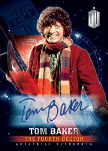 2016 Topps Doctor Who Timeless Autograph Tom Baker Mock-Up