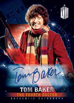 2016 Topps Doctor Who Timeless Autograph Tom Baker Mock-Up