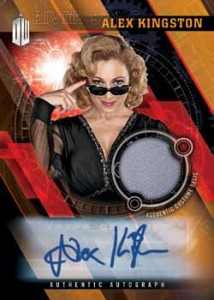 2016 Topps Doctor Who Timeless Autographed Relic Mock-Up