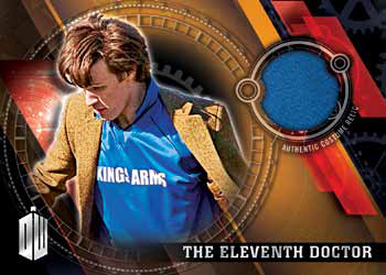2016 Topps Doctor Who Timeless Costume Relic