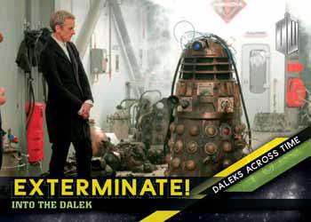 2016 Topps Doctor Who Timeless Daleks Across Time