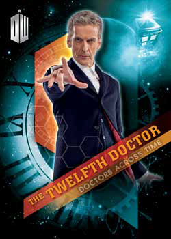 2016 Topps Doctor Who Timeless Doctors Across Time