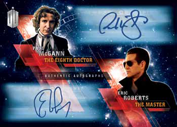 2016 Topps Doctor Who Timeless Checklist - Dual Autograph Mock-Up