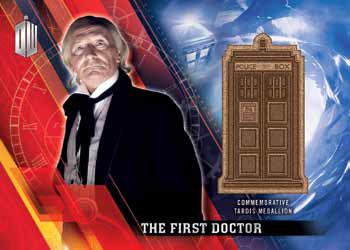 2016 Topps Doctor Who Timeless Medallion Card