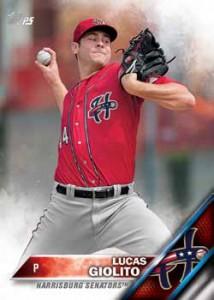 2016 Topps Pro Debut Baseball Base