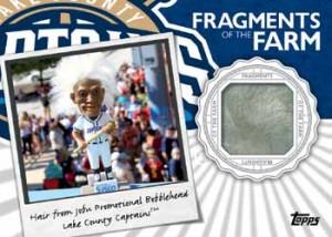 2016 Topps Pro Debut Baseball Fragments of the Farm