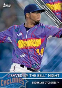 2016 Topps Pro Debut Baseball Promo Night Uniforms