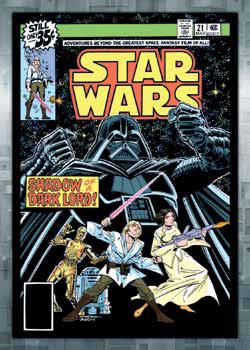 2016 Topps Star Wars Evolution Checklist Comics