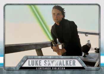 2016 Topps Star Wars Evolution Light Saber