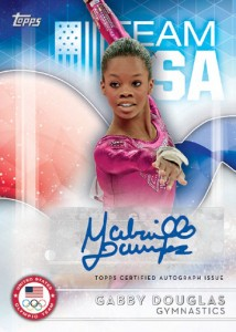 2016 Topps US Olympic and Paralympic Team Hopefuls Autographs Gabby Douglas