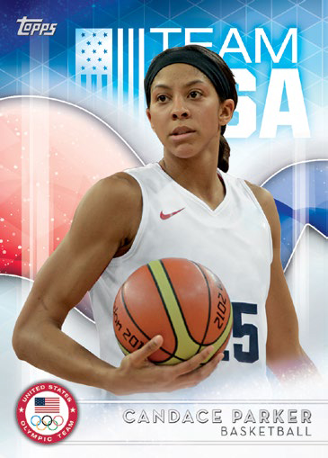 2016 Topps US Olympic and Paralympic Team Hopefuls Base