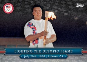 2016 Topps US Olympic and Paralympic Team Hopefuls Memorable Moments Muhammad Ali