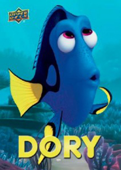 2016 Upper Deck Finding Dory Stickers Cards Dory