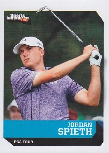 Jordan Spieth 2015 Sports Illustrated Kids