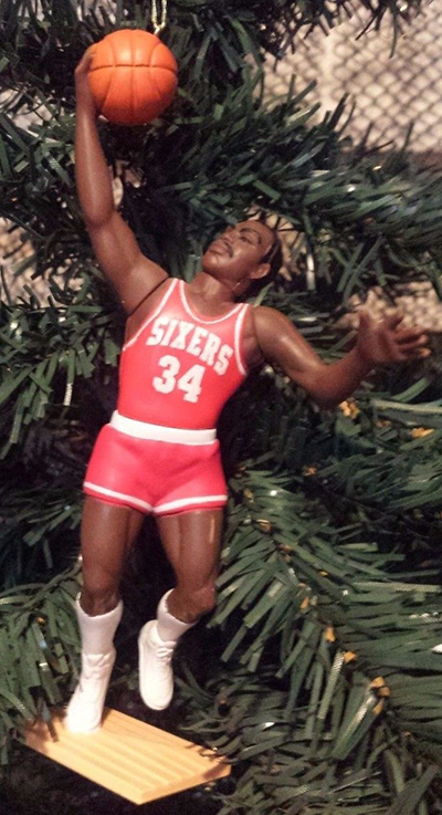 SLU Christmas Ornaments Charles Barkley
