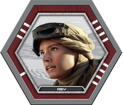 Star Wars Galactic Connexions Series 2 Gray Rey