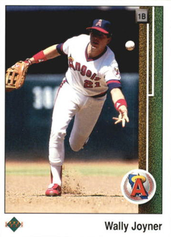 1989 Upper Deck Baseball 573 Wally Joyner
