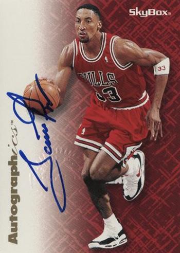 1996-97 SkyBox Autographics Scottie Pippen