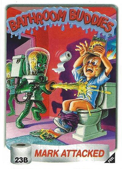1996 Bathroom Buddies 23b Mark Attacked