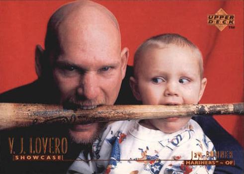 1996 Upper Deck V.J. Lovero Showcase 11 Jay Buhner