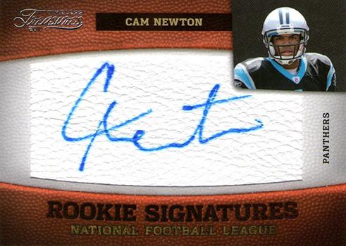 2011 Timeless Treasures Cam Newton