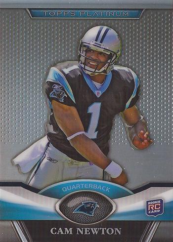 Cam Newton Rookie Cards - 2011 Topps Platinum