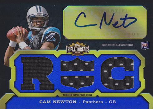 2011 Topps Triple Threads Cam Newton