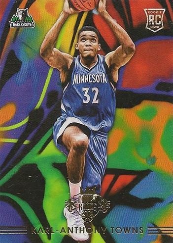 2015-16 Panini Court Kings Rookies III Karl-Anthony Towns