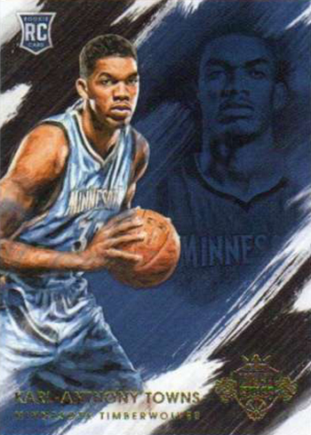 2015-16 Panini Court Kings Rookies V Karl-Anthony Towns