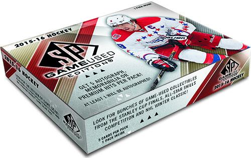 2015-16 SP Game Used Hockey Box