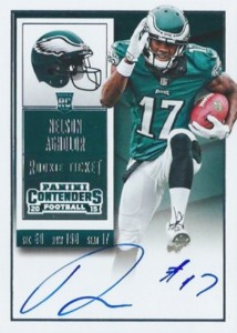 2015 Panini Contenders Rookie Ticket RPS Nelson Agholor