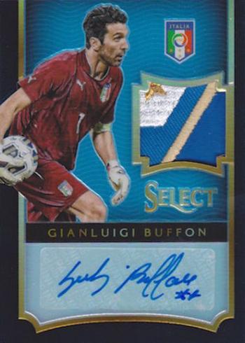 2015 Select Soccer Black Patch Gianluigi Buffon