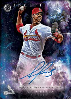 2016 Bowman Inception Baseball Prospect Autograph