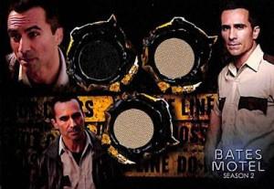 2016 Breygent Bates Motel Seasons 1 and 2 Comic Con SE Costume Sheriff Romero Triple
