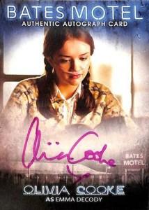 2016 Breygent Bates Motel Seasons 1 and 2 Comic Con SE Olivia Cooke