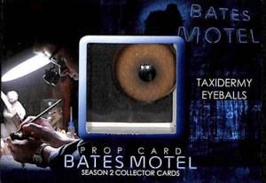 2016 Breygent Bates Motel Seasons 1 and 2 Comic Con SE Prop Taxidermy Eyeballs