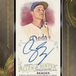 2016 Topps Allen and Ginter Baseball Framed Autograph
