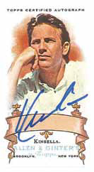 2016 Topps Allen and Ginter Baseball Kevin Costner Autograph