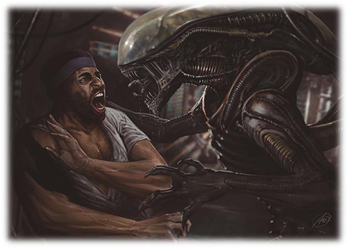 2016 Upper Deck Alien Anthology Base
