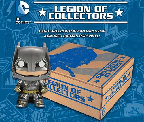Funko DC Comics Legio of Collectors Box 1 Armored Batman