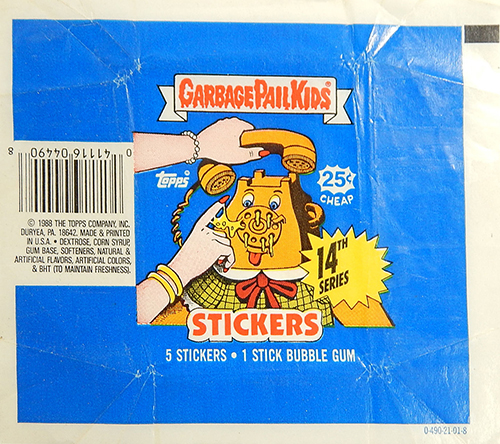 GPK Wrappers Series 14