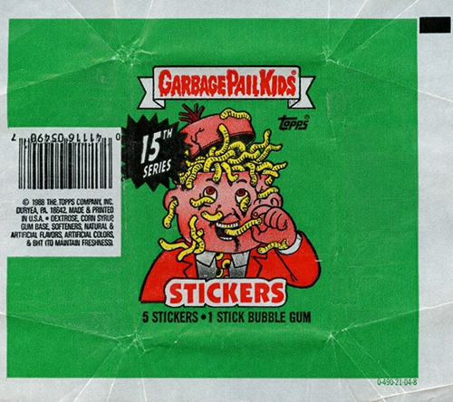 GPK Wrappers Series 15