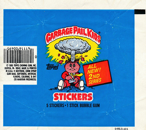 GPK Wrappers Series 2