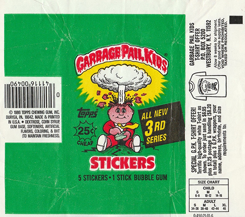 GPK Wrappers Series 3