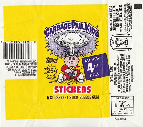 GPK Wrappers Series 4