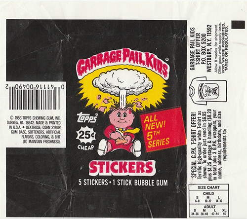GPK Wrappers Series 5