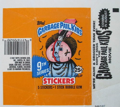 GPK Wrappers Series 9