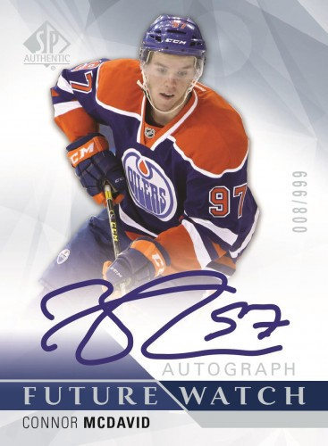 2015-16 Upper Deck SP Authentic Hockey McDavid FW